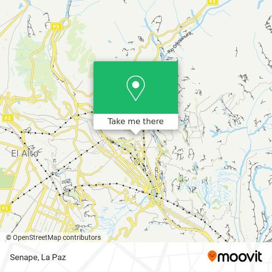 Senape map
