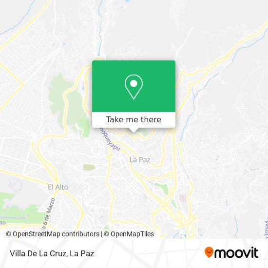 Villa De La Cruz map