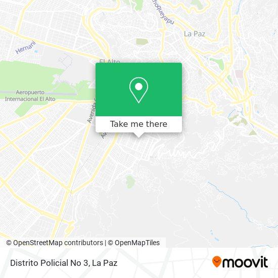 Regimiento Policial No 3 map