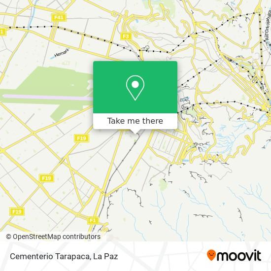 Cementerio Tarapaca map