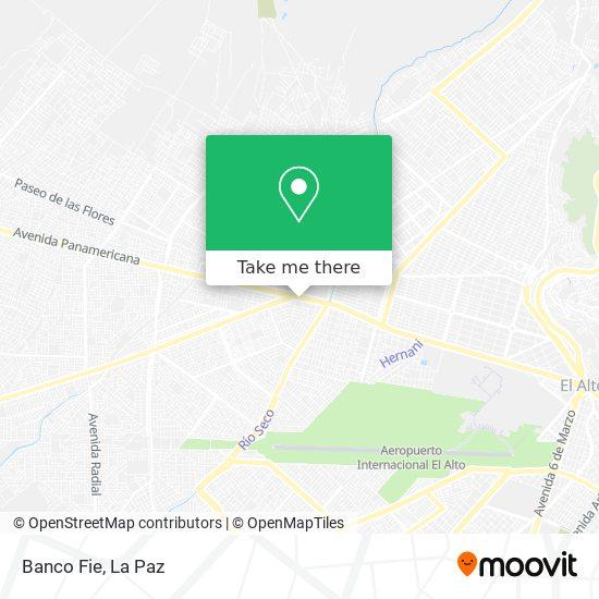 Banco Fie map