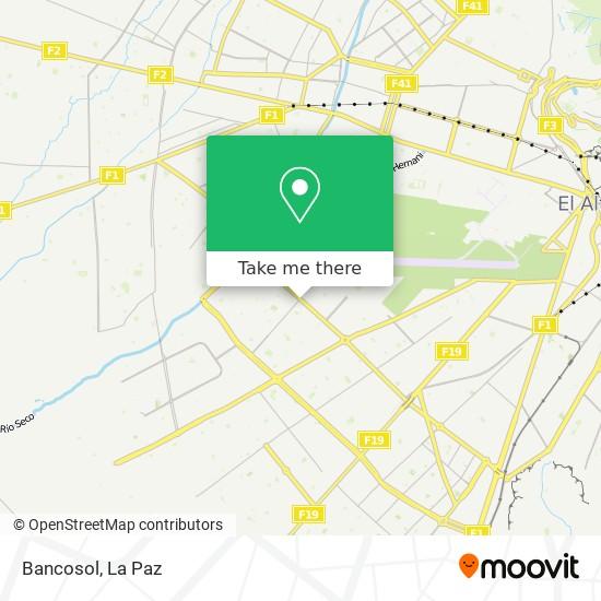 Banco Sol map