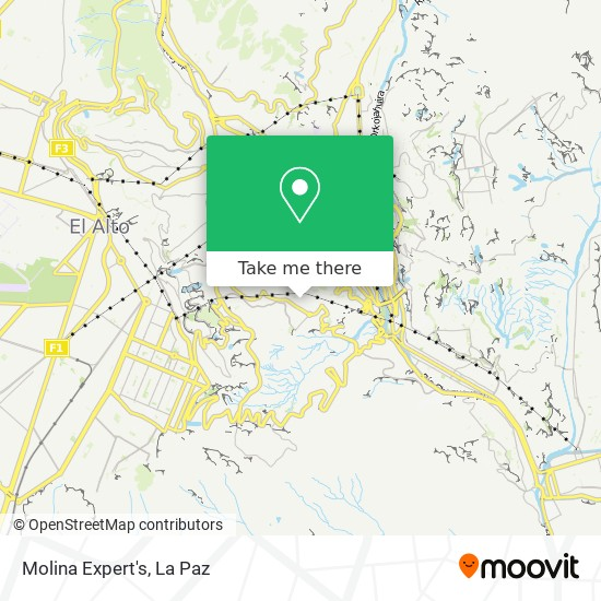 Limpieza De Ropa Molina Expert's map