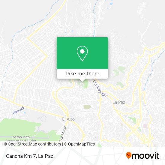 Cancha Del Km 7 map