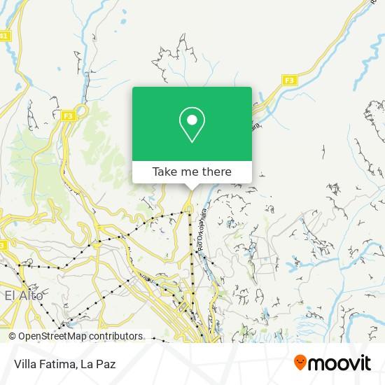Villa Fatima map