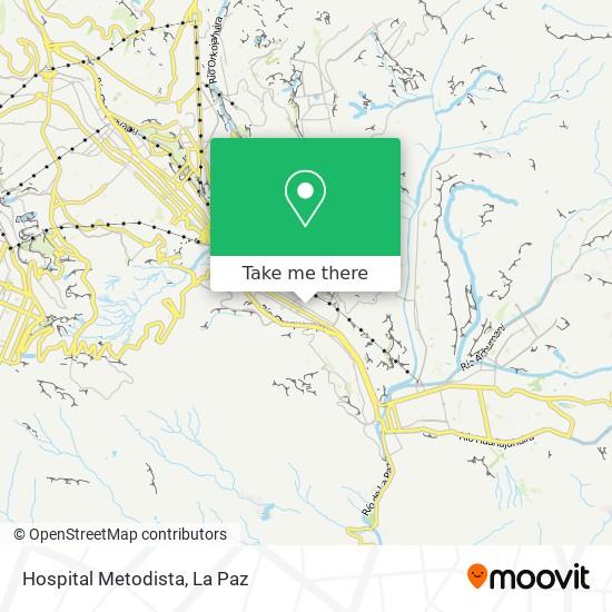 Hospital Metodista map