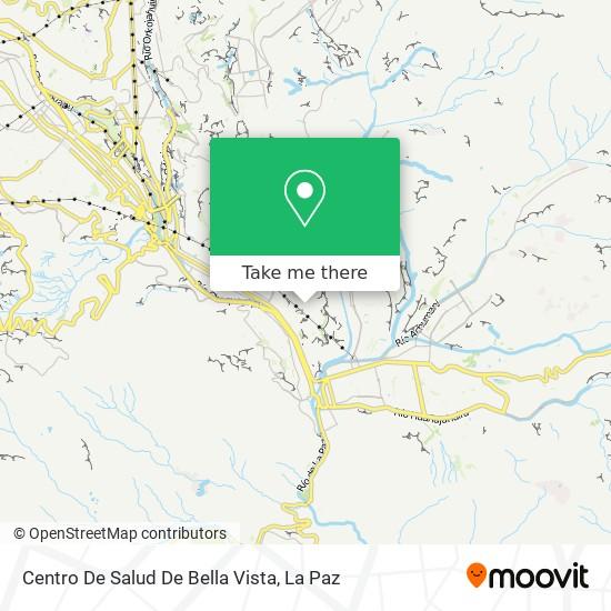 Centro De Salud De Bella Vista map