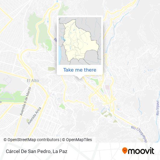 Carcel De San Pedro map