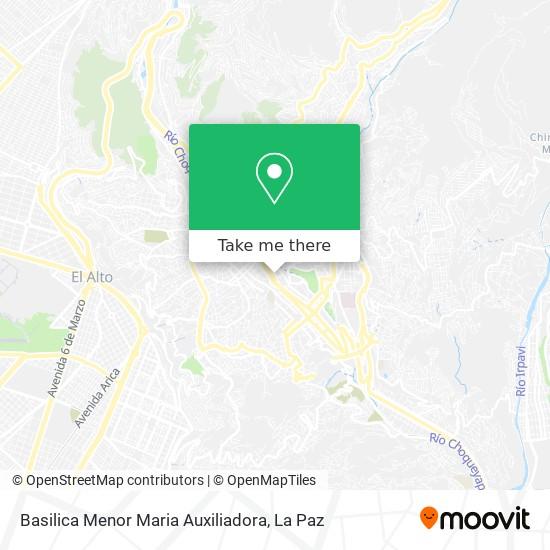 Basilica Menor Maria Auxiliadora map