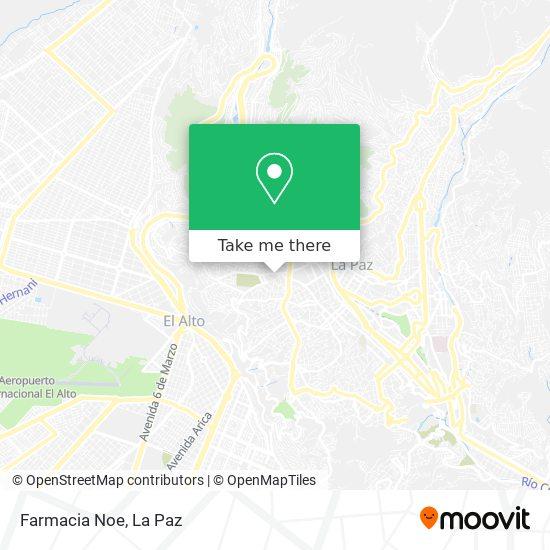 Farmacia Noe map