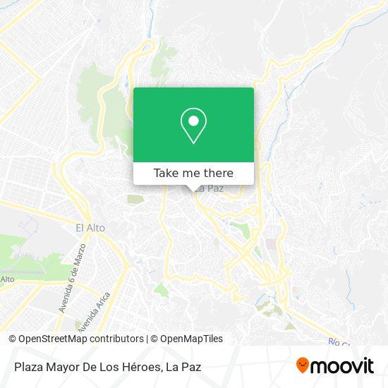 Plaza Mayor map