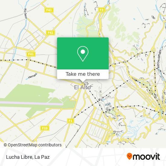 Lucha Libre map