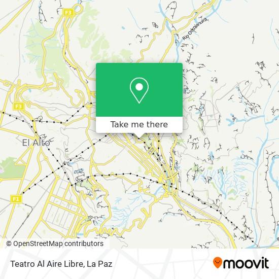 Teatro Al Aire Libre map