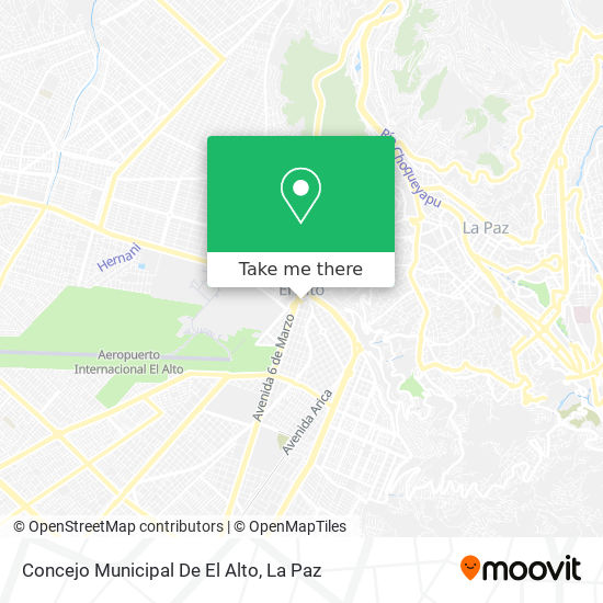 Concejo Municipal - Gamea map