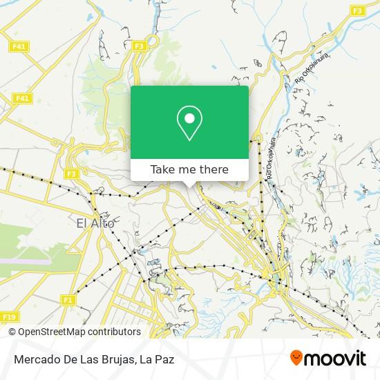 Mercado De Las Brujas map