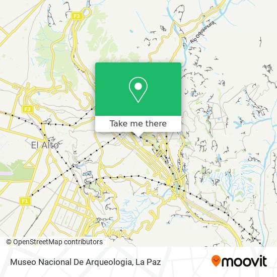 Museo Nacional De Arqueologia map