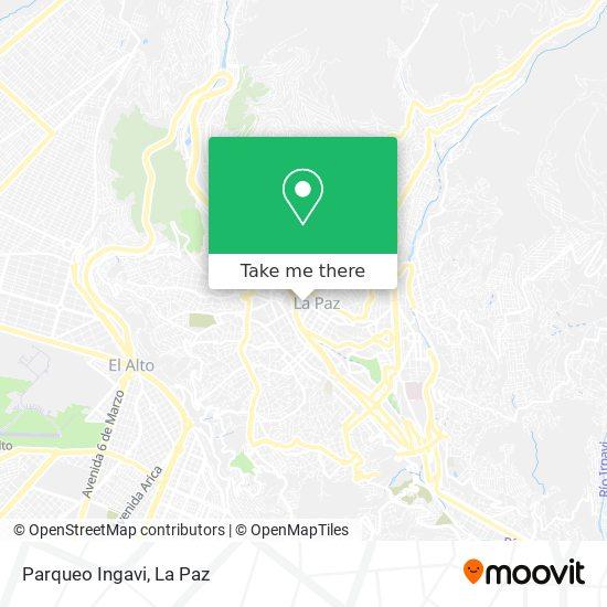 Parqueo Ingavi map
