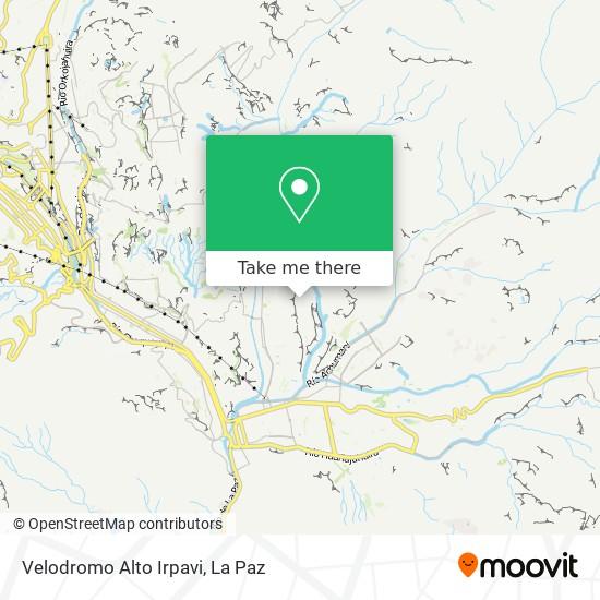 Velodromo Alto Irpavi map