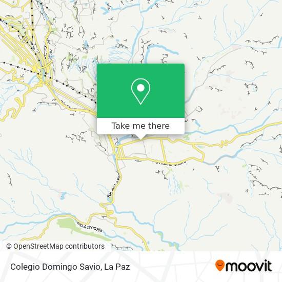 Colegio Domingo Savio map