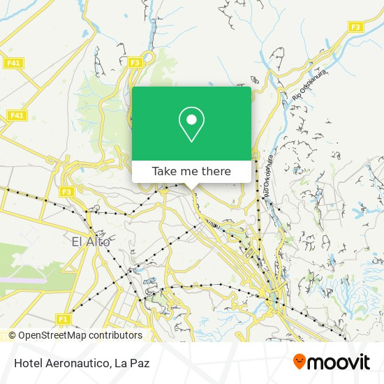 Hotel Aeronautico map