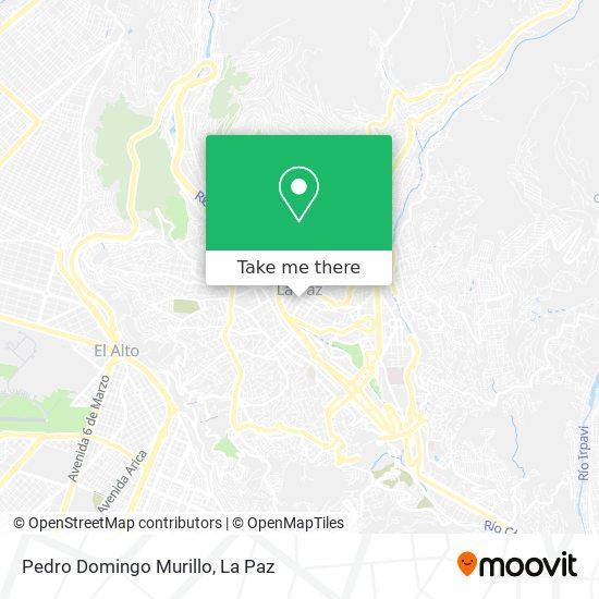 Estatua Pedro Domingo Murillo map