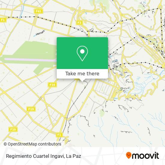 Regimiento Cuartel Ingavi map