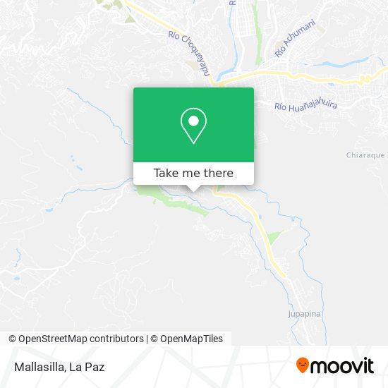 Mallasilla map