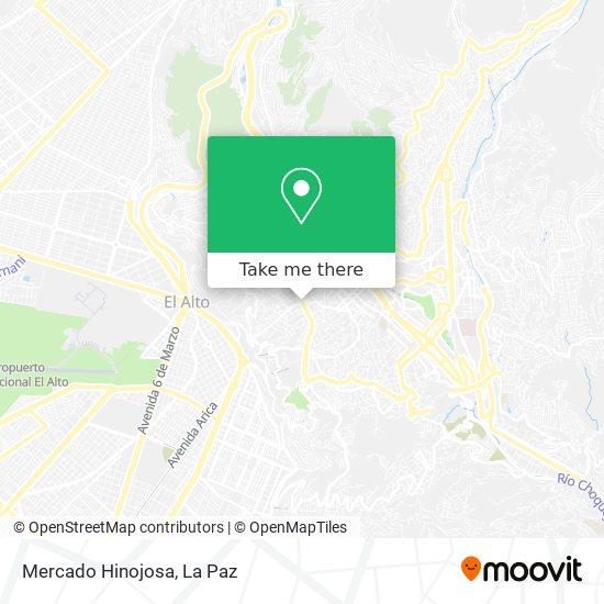 Mercado Hinojosa map