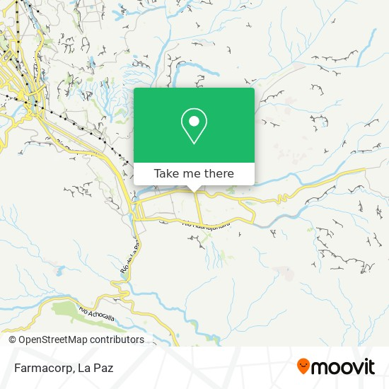 Farmacorp map