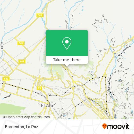 Barrientos map