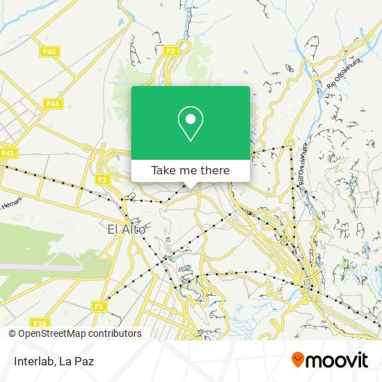 Interlab map