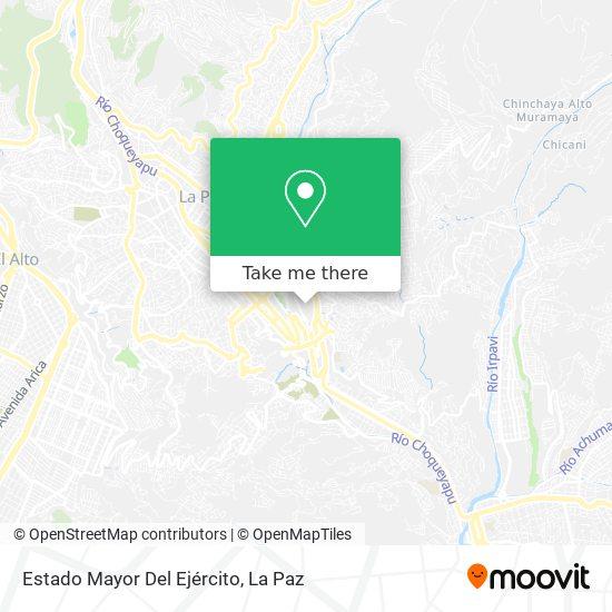 Estado Mayor Del Ejercito map