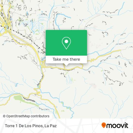 Torre 1 De Los Pinos map