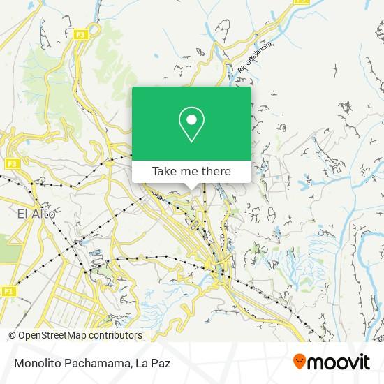 Monolito Pachamama map