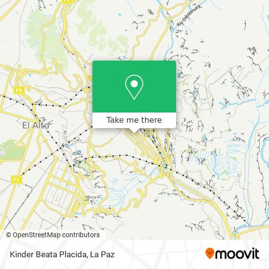 Kinder Beata Placida map
