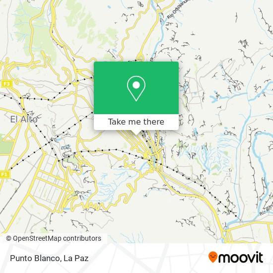 Punto Blanco map