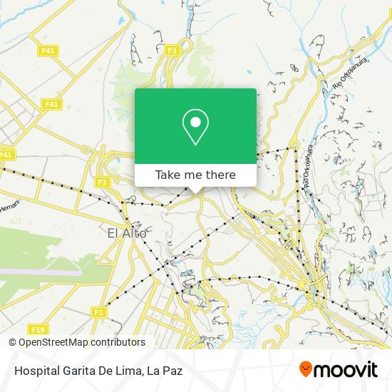 Hospital Garita De Lima map