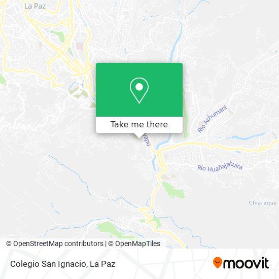 Colegio San Ignacio map