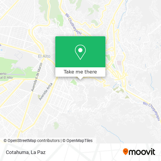 Cotahuma map