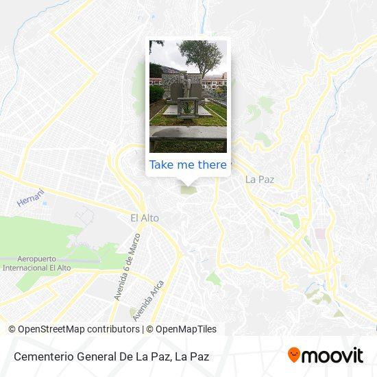 Cementerio General map