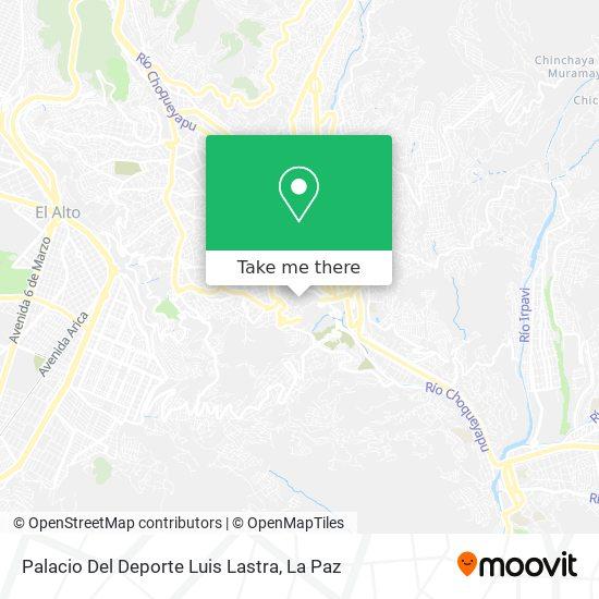 Luis Lastra map