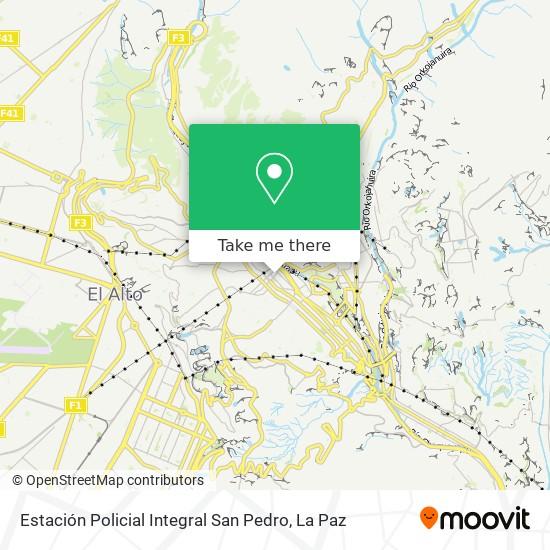 Estación Policial Integral San Pedro map