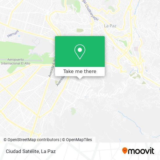 Ciudad Satéllite map