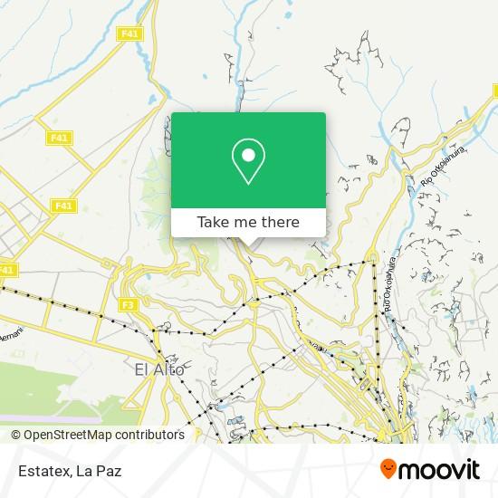 Estatex map