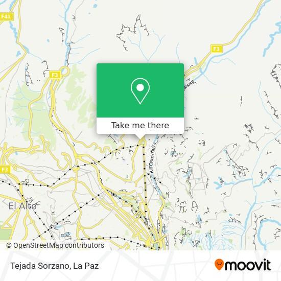Tejada Sorzano map