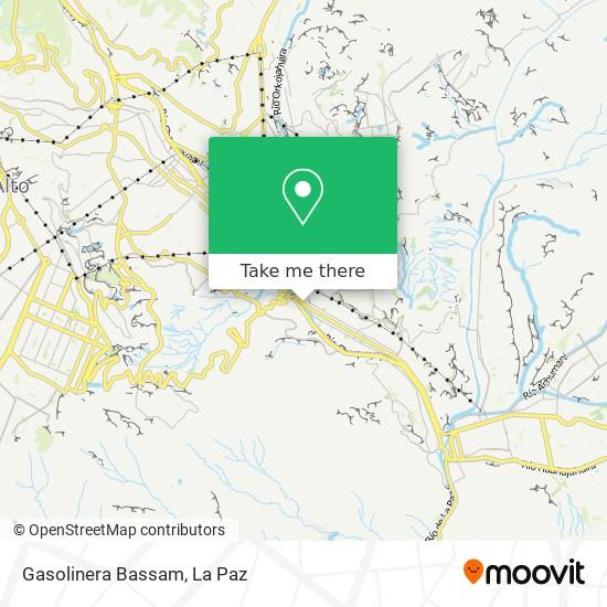 Gasolinera Bassam map