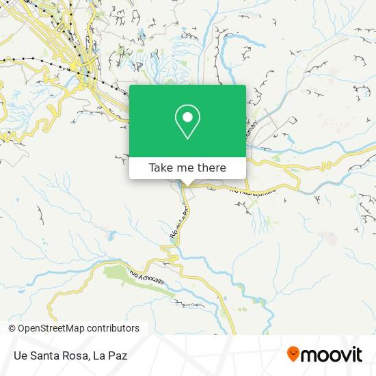 Ue Santa Rosa map