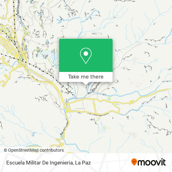 Escuela Militar De Ingenieria map