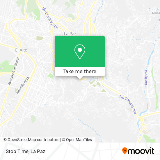 Stop Time map