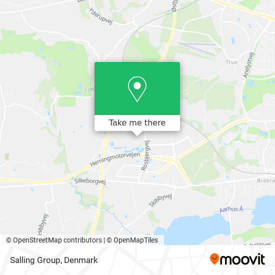 Salling Group map